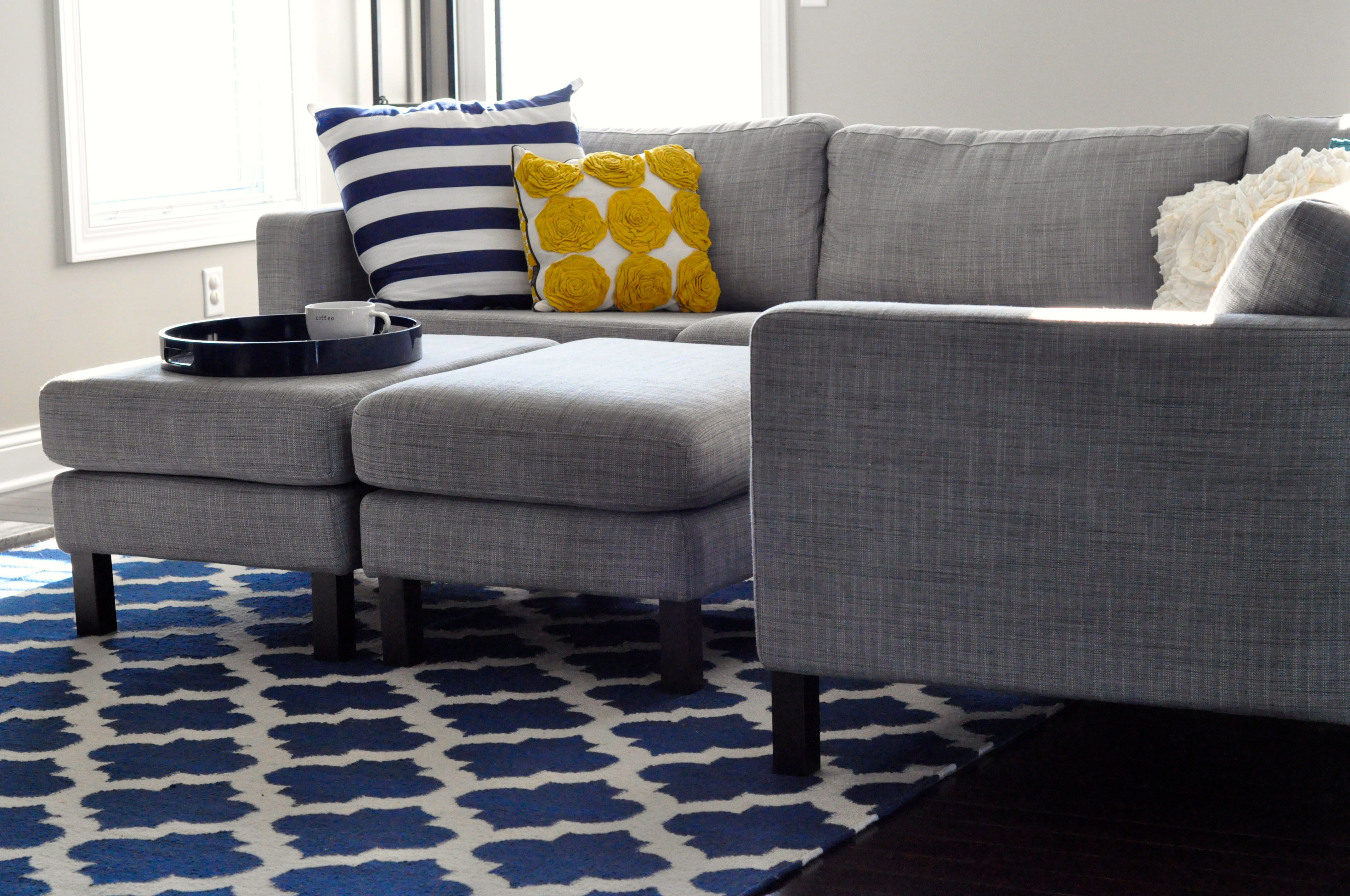 Best Love The Rug With This Karlstad Sectional Sofa Search 400 x 300