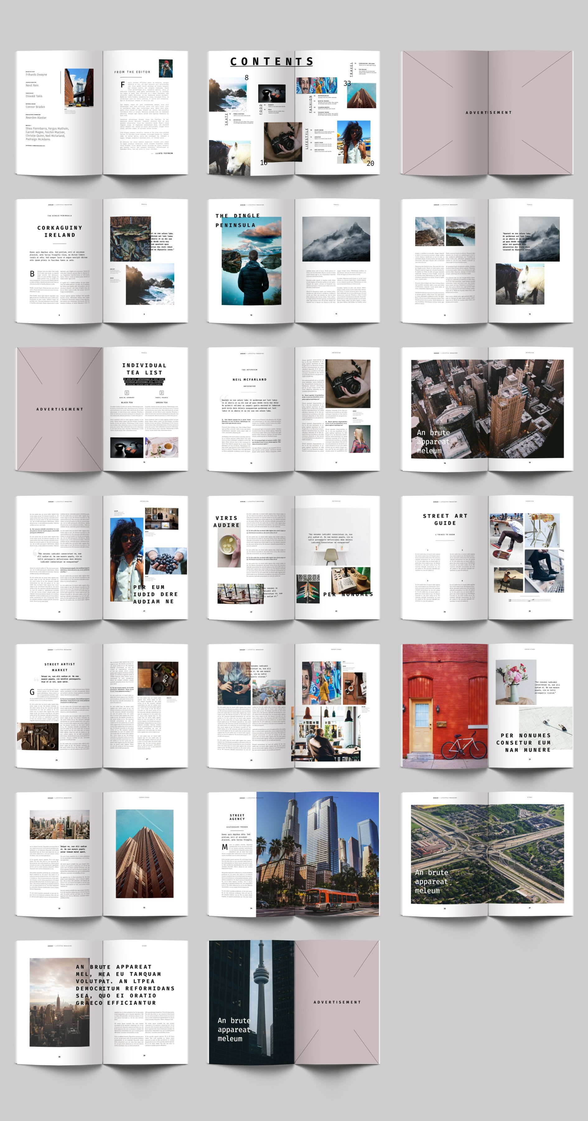 Magazine Layout Design Pdf