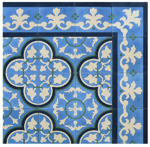 Cuban tile fribley home bathroom pinterest tile for Encaustic tile dallas