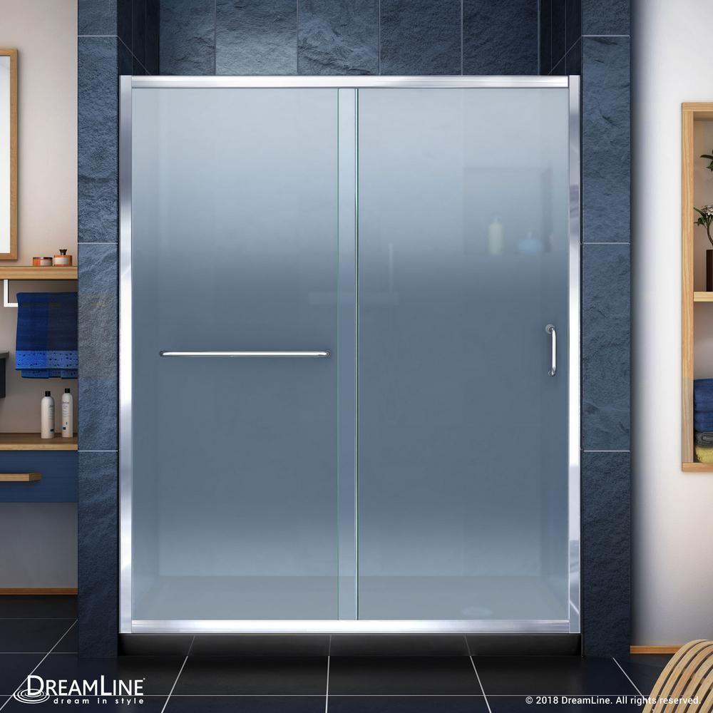 Dalia 40 X 81 3 Square Hinged Shower Enclosure With Base