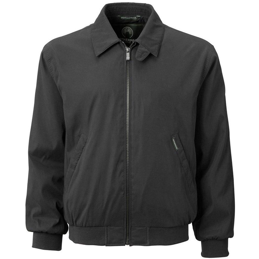 2297f8d99 Weatherproof Garment Co. Men's Black Microfiber Classic Golf Jacket ...