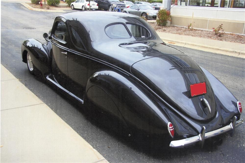 1939 lincoln zephyr lot 1305 barrett jackson auction company adrenaline capsules pinterest. Black Bedroom Furniture Sets. Home Design Ideas