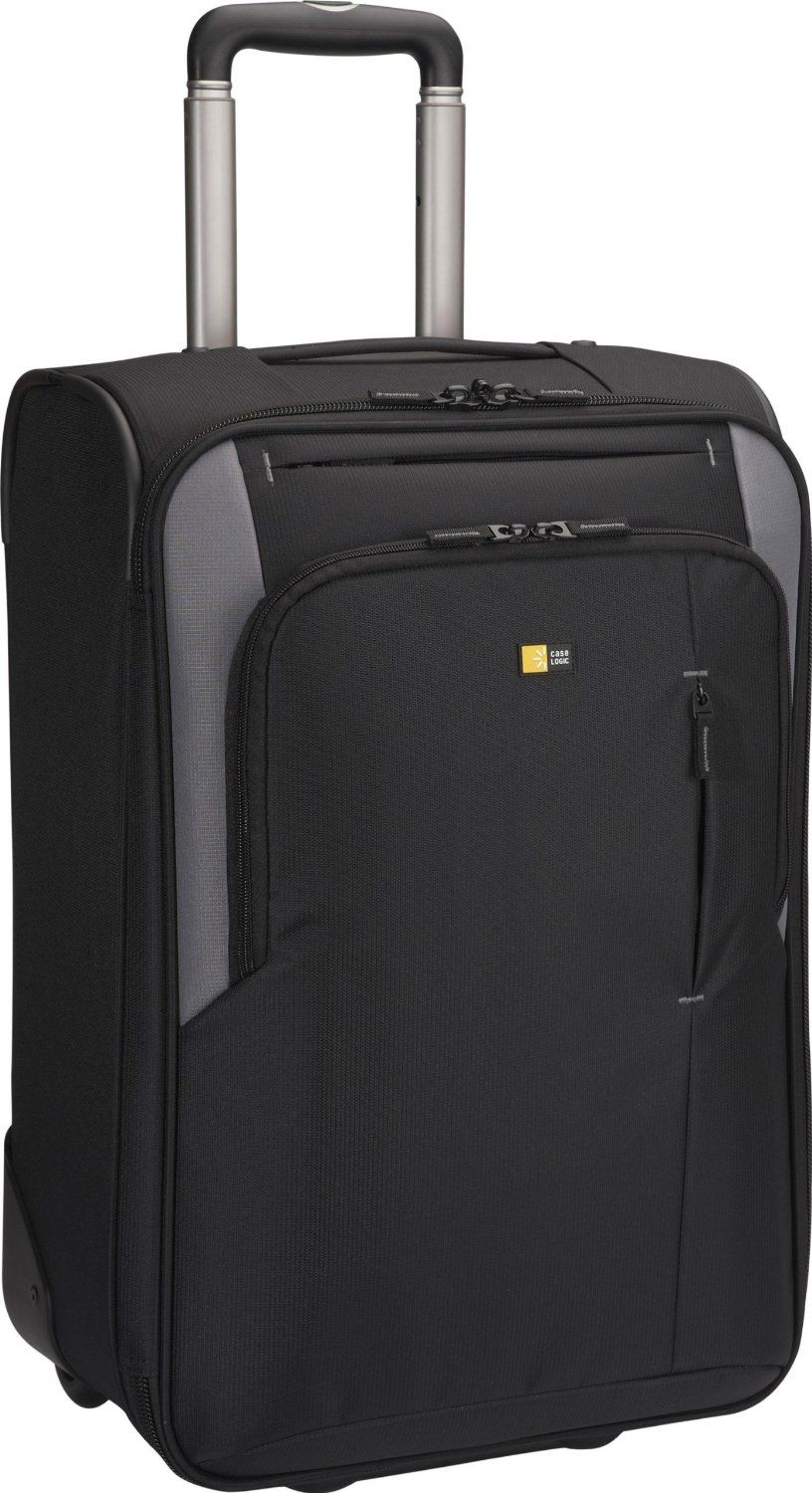 Case logic luggage global rolling upright black one size product description one bag traveling at its best the contemporary laptop compatible