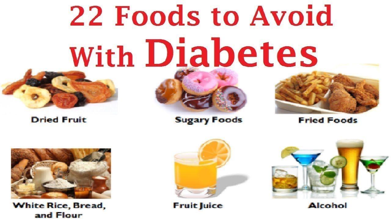 22 Most Dangerous Foods Diabetic People Should Not Touch Avoid