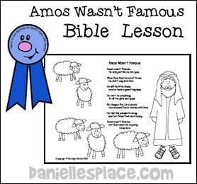 who wrote amos in the bible