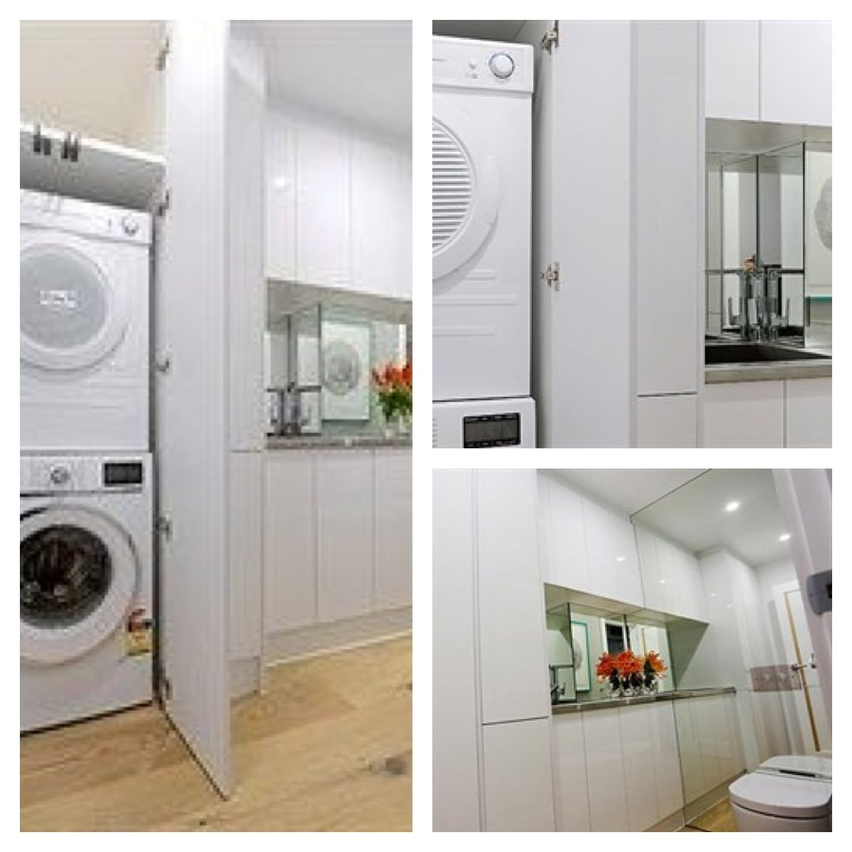 2013 The Block Ideas - Shared Bathroom/laundry