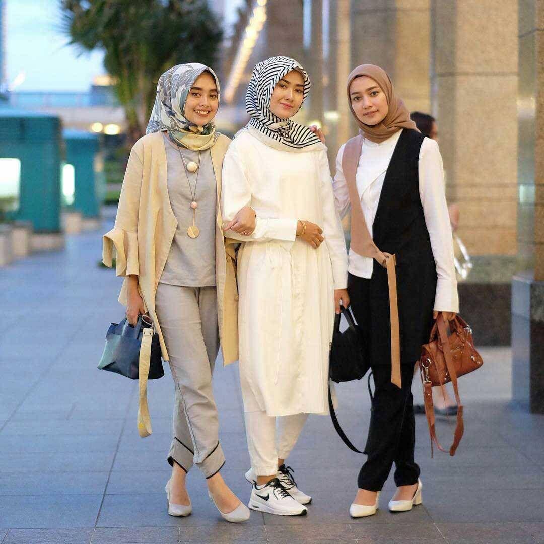 Pin oleh Vien di Hijabs | Tren mode, Pakaian remaja, dan ...
