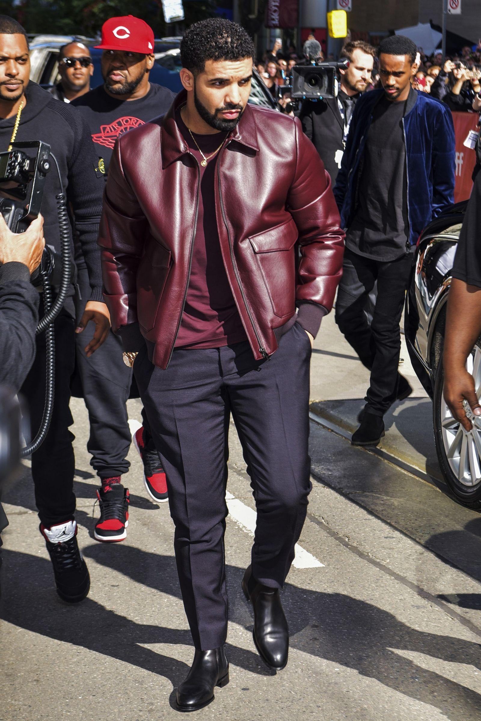 Drake S Outerwear Collection Is The True Hero Of Fall Big Men Fashion Drake Fashion Drake Clothing [ 2400 x 1600 Pixel ]