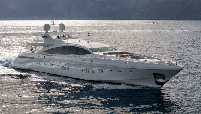 Best Of The Best 2015 Mangusta 165 E Boating Yachting Luxury