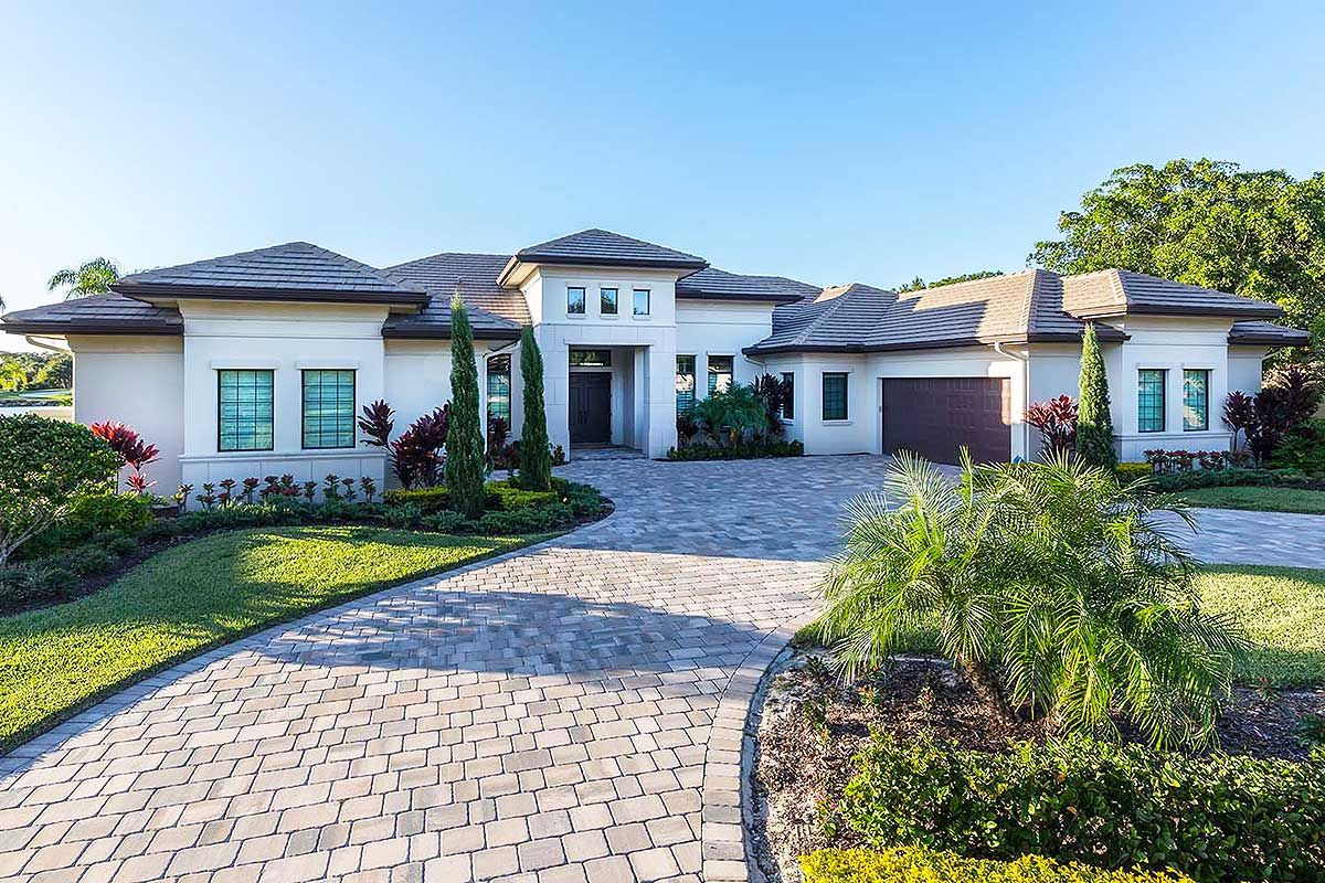 Florida House Plan with Open Layout - 86020BW | 1st Floor Master ...