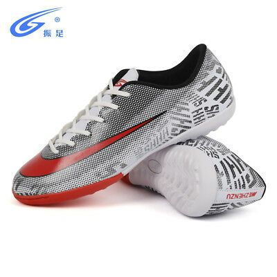 a031256e2 Men's Kids Soccer Cleats Shoes Indoor TF Turf Football Trainers Sports  Sneakers   eBay