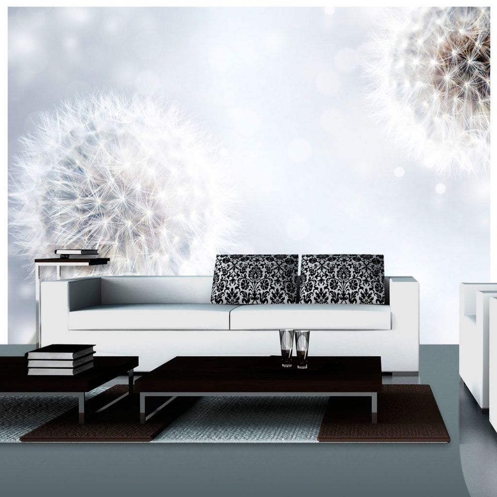 vlies tapete top fototapete wandbilder xxl 300x210 cm pusteblume blumen natur 10110906. Black Bedroom Furniture Sets. Home Design Ideas