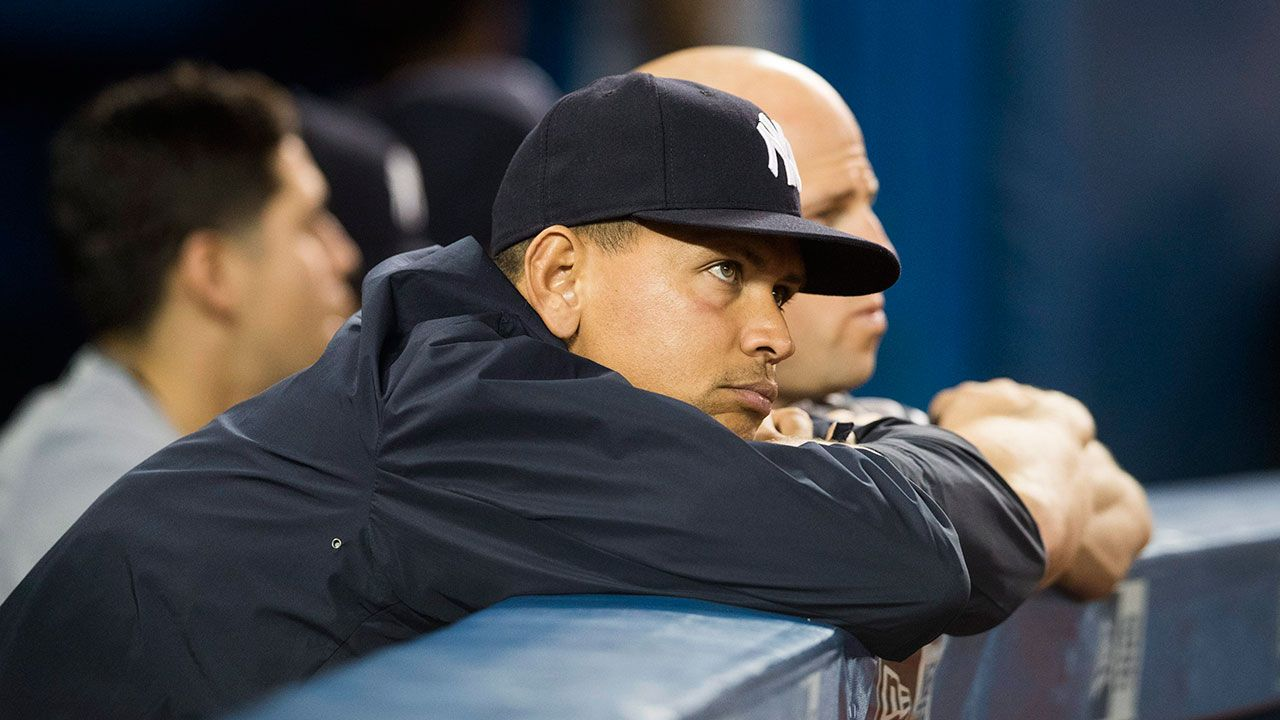 029bfbcf1 Alex Rodriguez out of Yankees  lineup again