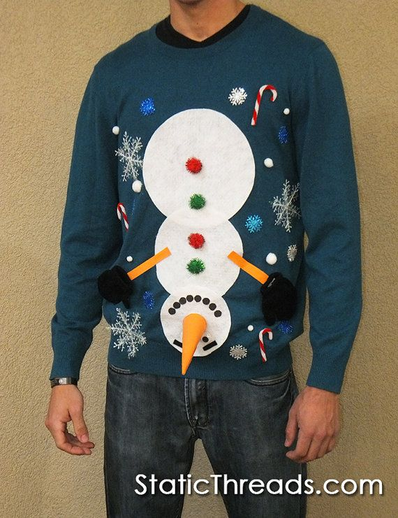 Ugly Christmas Sweater Ugly Christmas Sweater Mens Custom