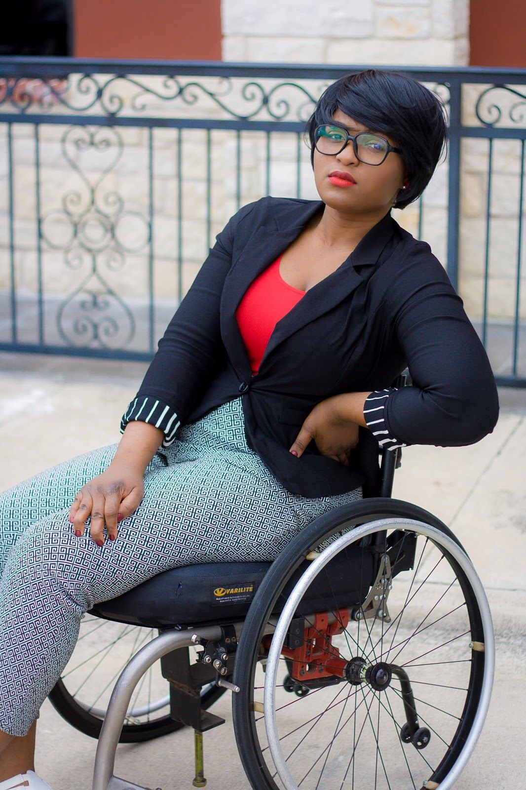 The Do It Yourself Lady Wheelchair Fashion Nerdy Chic In -1740