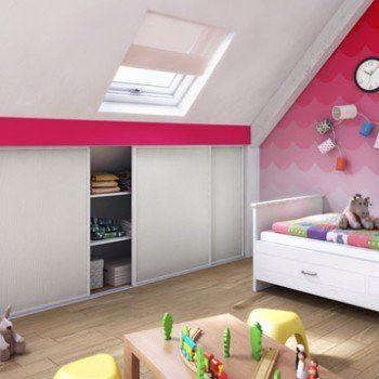 Porte De Placard Coulissante Effet Frene Blanc L 98 7xh 120cm Placard Coulissant Porte Placard Coulissante Et Chambre Enfant