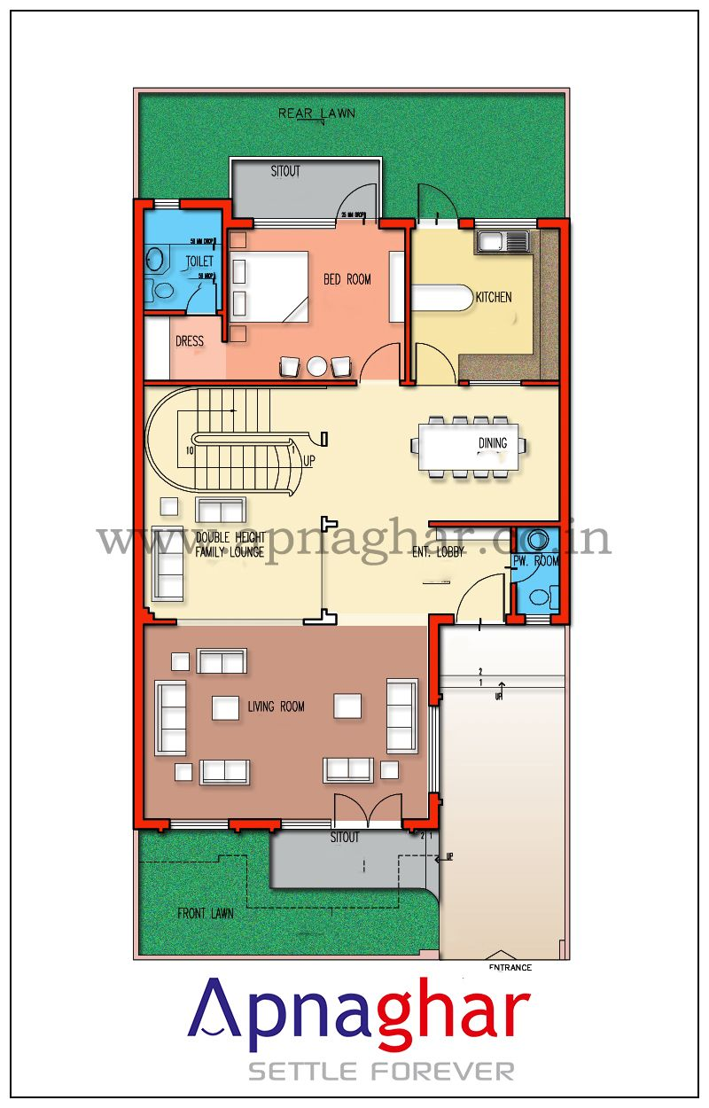 Get Floor Plan For All The Floors Of Your House Designed By Expert Architects Visit Www Apnaghar Co In Floor Plans House Plans Duplex Plans
