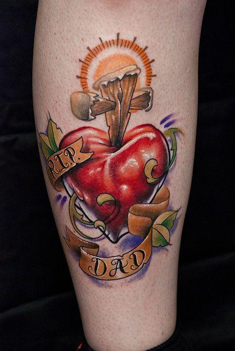 60d85d08d Heart and Cross Tattoo by mattymctatty on DeviantArt   tattoo   Rip ...