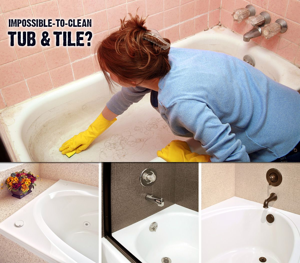 Has Your Bathtub Tile Become Impossible To Clean The Stains Won