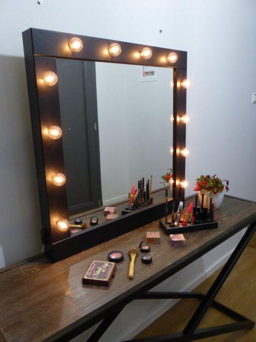 48 decoration lights in makeup mirror for your bedroom pinterest