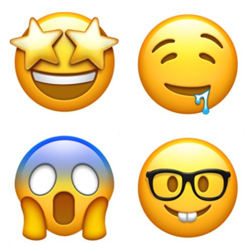Emoji Domain Is Available Drooling Face Face Screaming In Fear Nerd Face Star Struck Emoji Emoji Characters Broken Heart Wallpaper