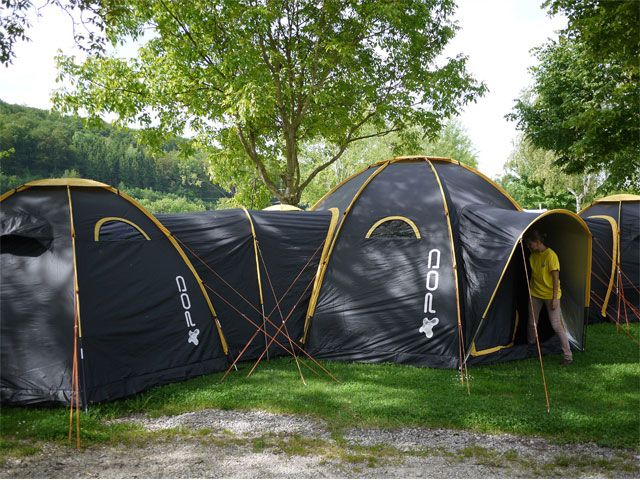 Modular POD tents connect to create multi-room c&ing getaways for family and friends... | Tents & Modular POD tents connect to create multi-room camping getaways ...