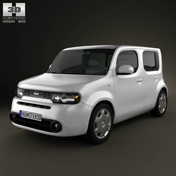 Nissan Cube 2010 3d Model From Humster3d Com Price 75 Cars