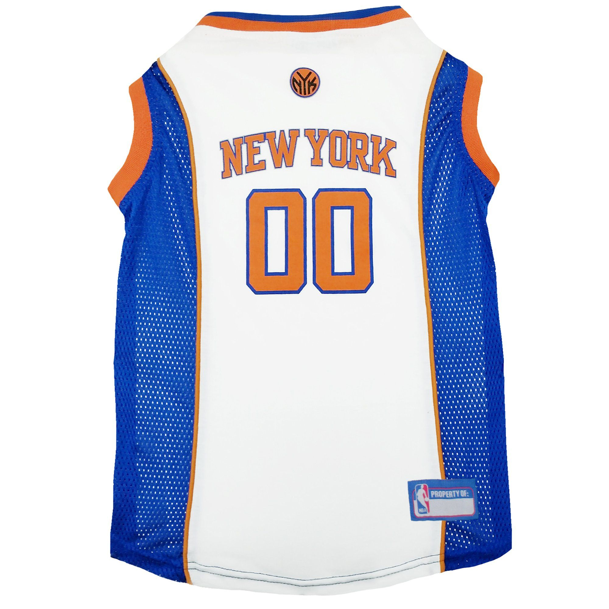 Pets First New York Knicks NBA Mesh Jersey for Dogs, X