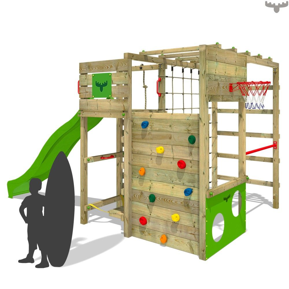 climbing frame with slide fitframe fresh xxl here children can climb on the. Black Bedroom Furniture Sets. Home Design Ideas
