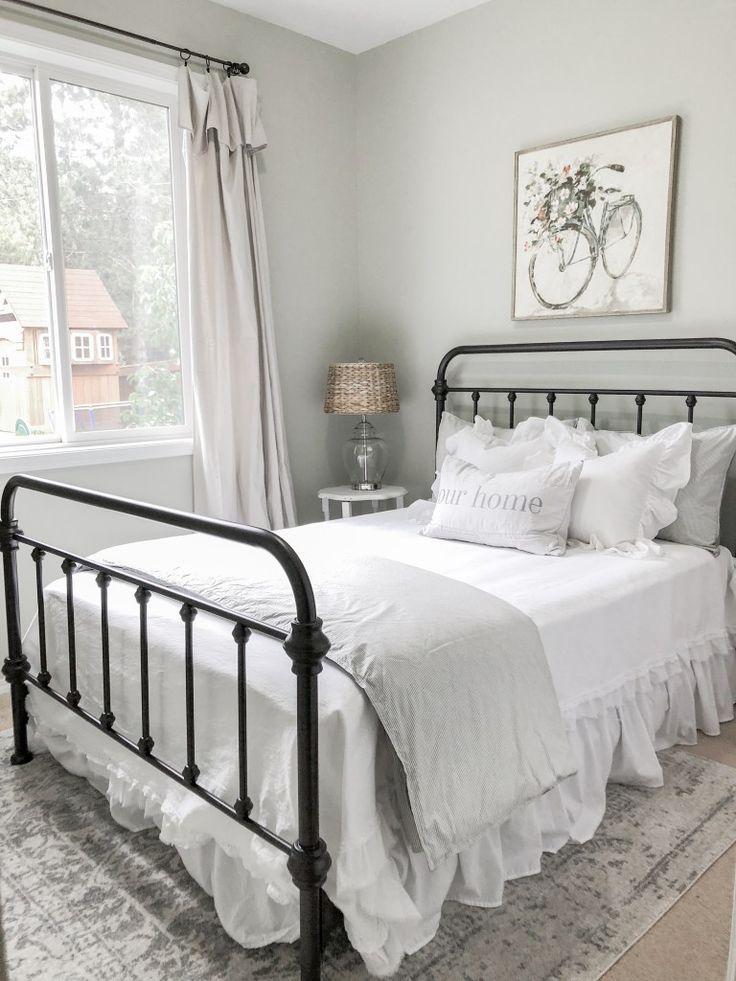 Best Guest Bedroom Makeover Our Farmhouse Cottage Home 640 x 480