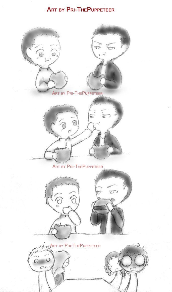 Mini Sterek Comic by Pri-ThePuppeteer