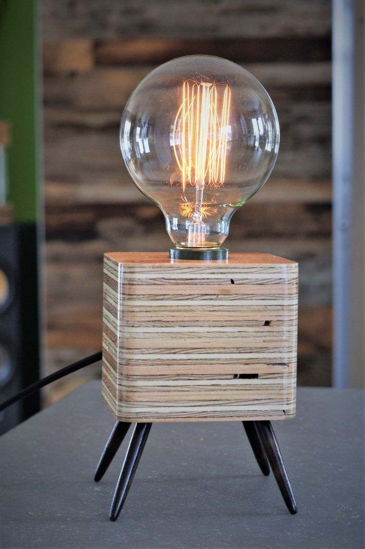 Idlights Table Lamp Wood Diy Table Lamp Wood Lamps
