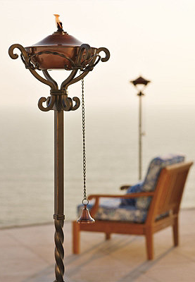 Gorgeous Outdoor Torches.