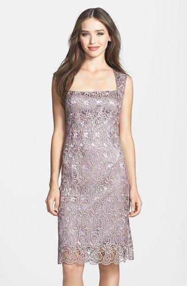 Marina Metallic Lace Sheath Dress Nordstrom Lace Sheath Dress Cocktail Dress Lace Maxi Dress Cocktail
