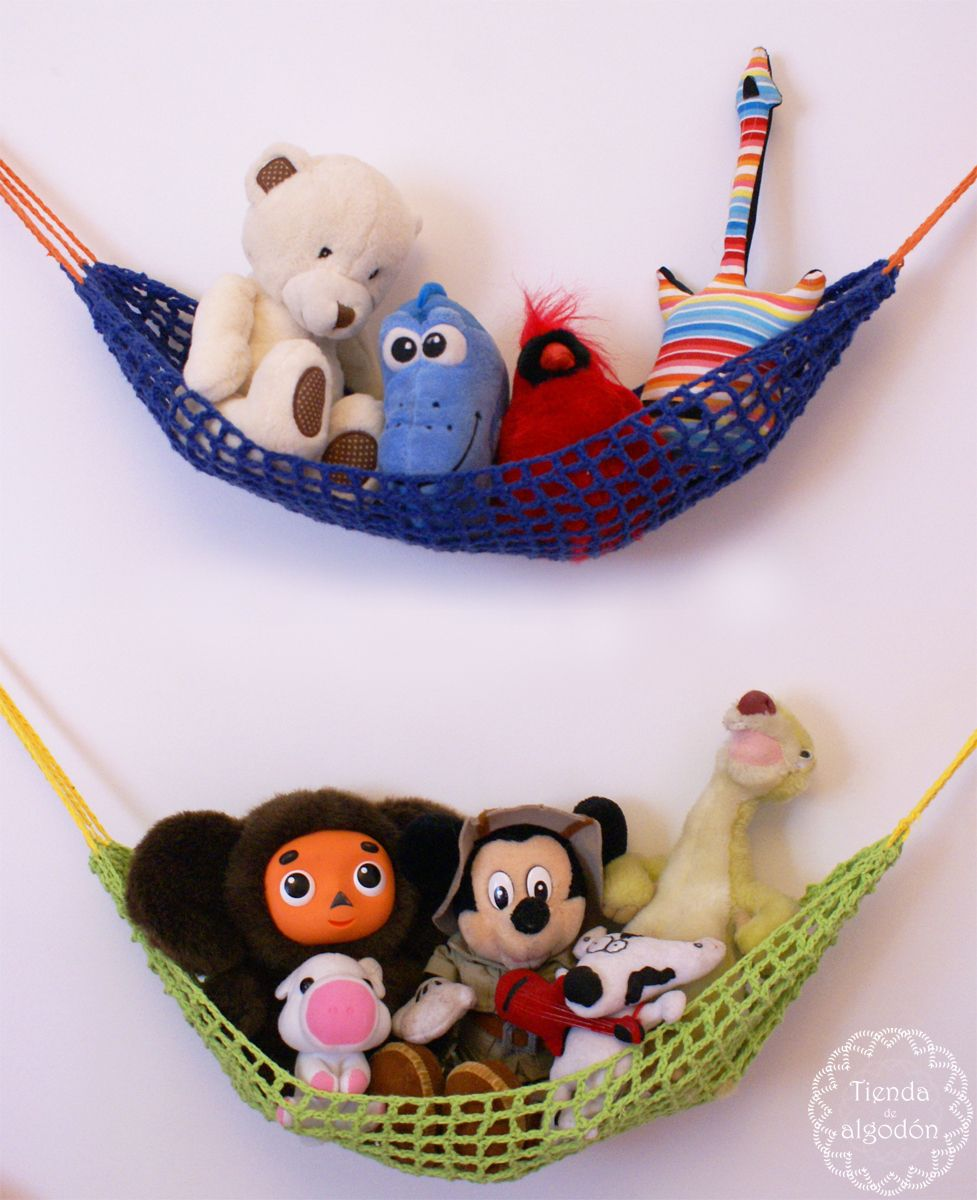 Hamacas para juguetes! * Crochet * tiendadealgodon@gmail.com