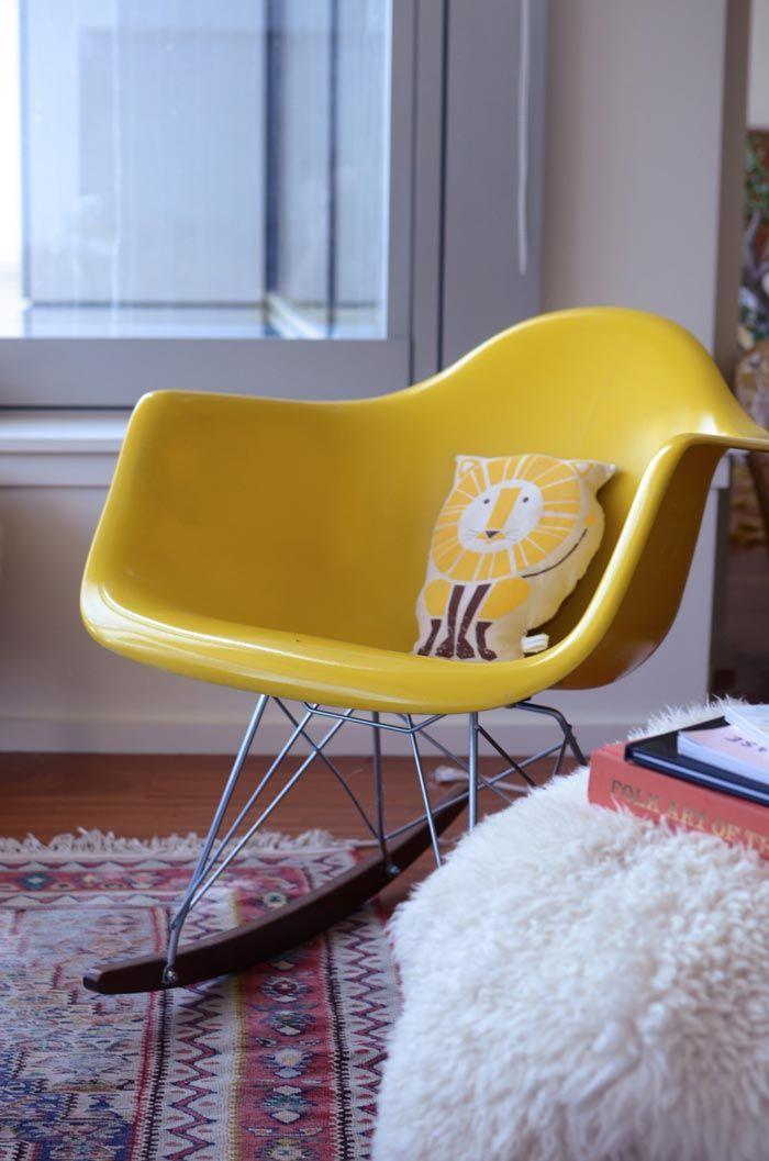 Comme Une Indigestion De Fauteuils à Bascule Eames Charles Eames - Fauteuil design charles eames