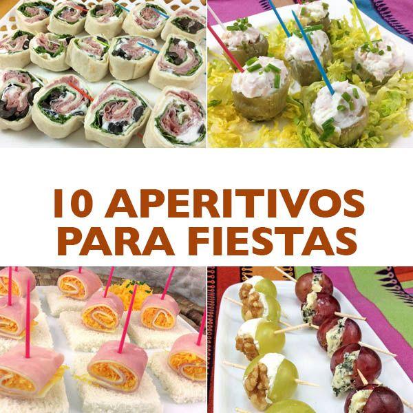 Aqu tienes una selecci n de aperitivos f ciles para - Platos originales y sencillos ...
