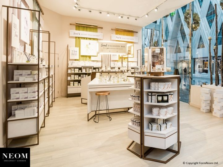 Neom Store By FormRoom Leeds UK Retail Design Blog