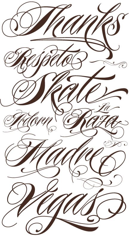 Nice Tattoo Font I Want This For My Ankle