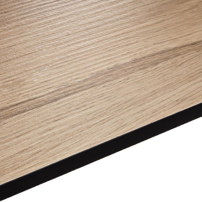 12 5mm Pyla Wood Effect Square Edge Kitchen Worktop L 3020mm D 610mm Departments Diy At B Amp Q Kitchen Worktop Square Edge Worktop Laminate Worktop
