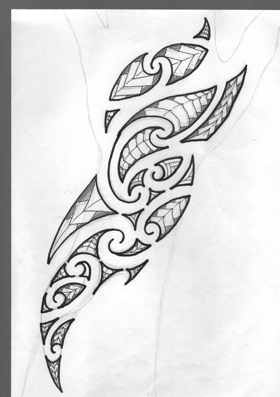 55 Best Maori Tattoo Designs Meanings: Tatouage, Tatouage Maori, Tatouage