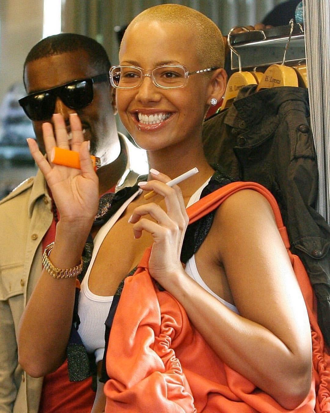 2000s On Instagram Kanye Amber 00s Kanyewest Amberrose Amber Rose Boss Lady People
