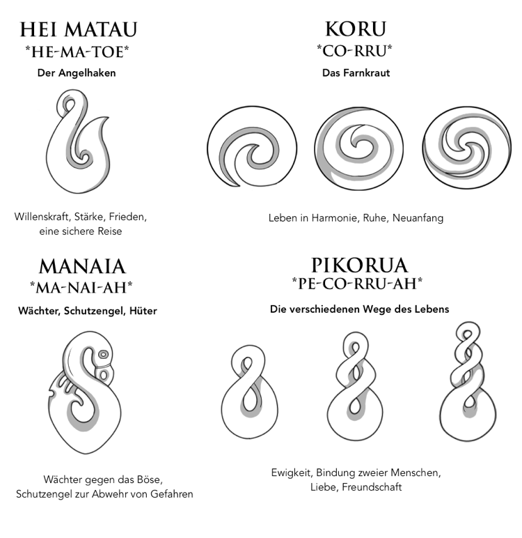 Maori Tattoos Sind Symbolische Zeichen Die Eine Art