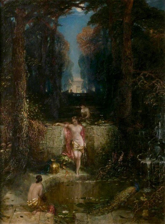 Alfred Joseph Woolmer - The bathers
