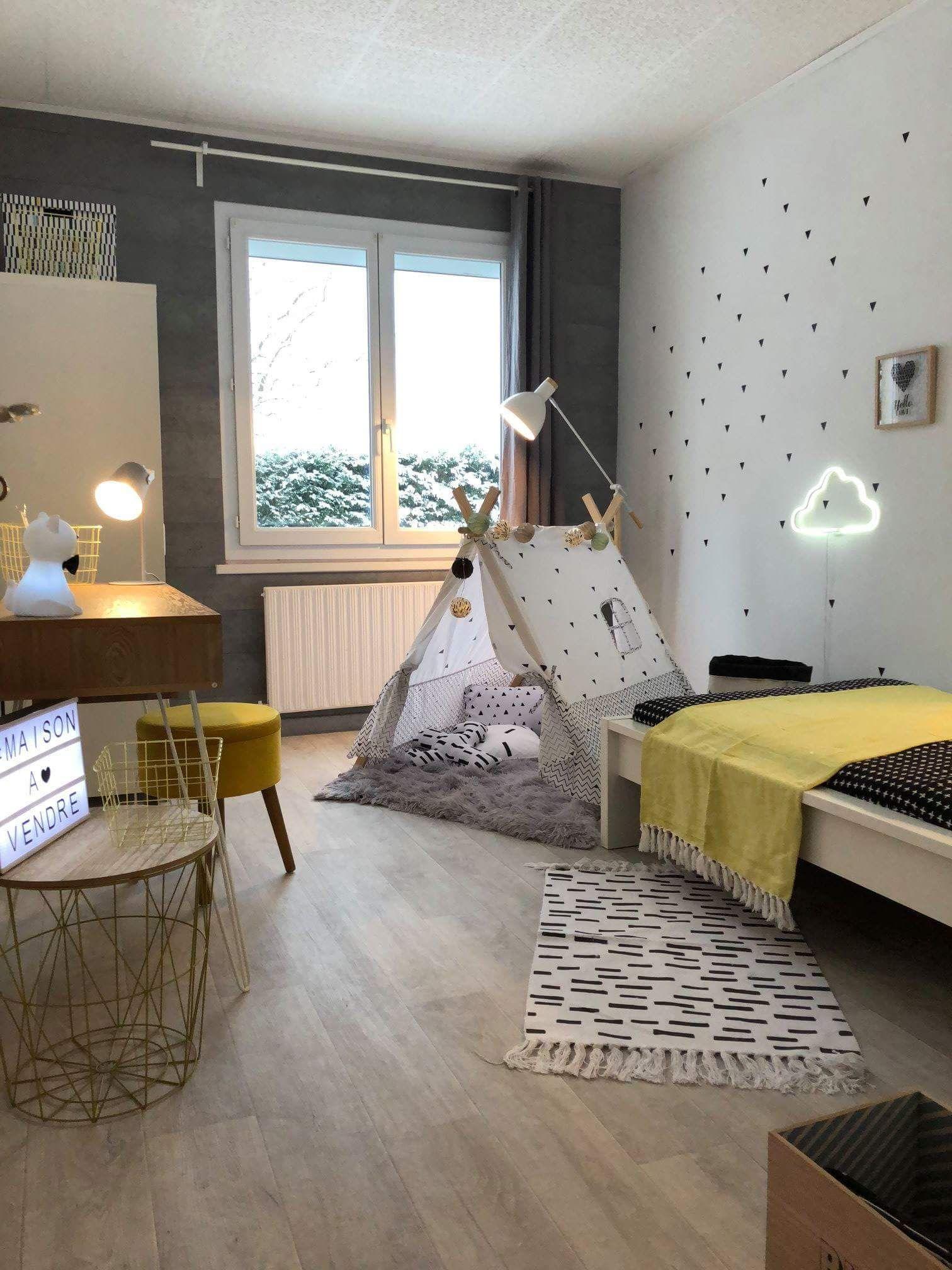 Chambre enfant Sophie Ferjani  Deco chambre enfant, Chambre