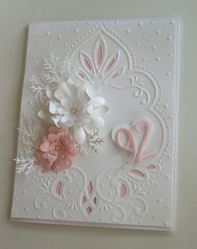 Linda S Stampin Loft On The Soft Side Cards Handmade Embossed Cards Creative Cards