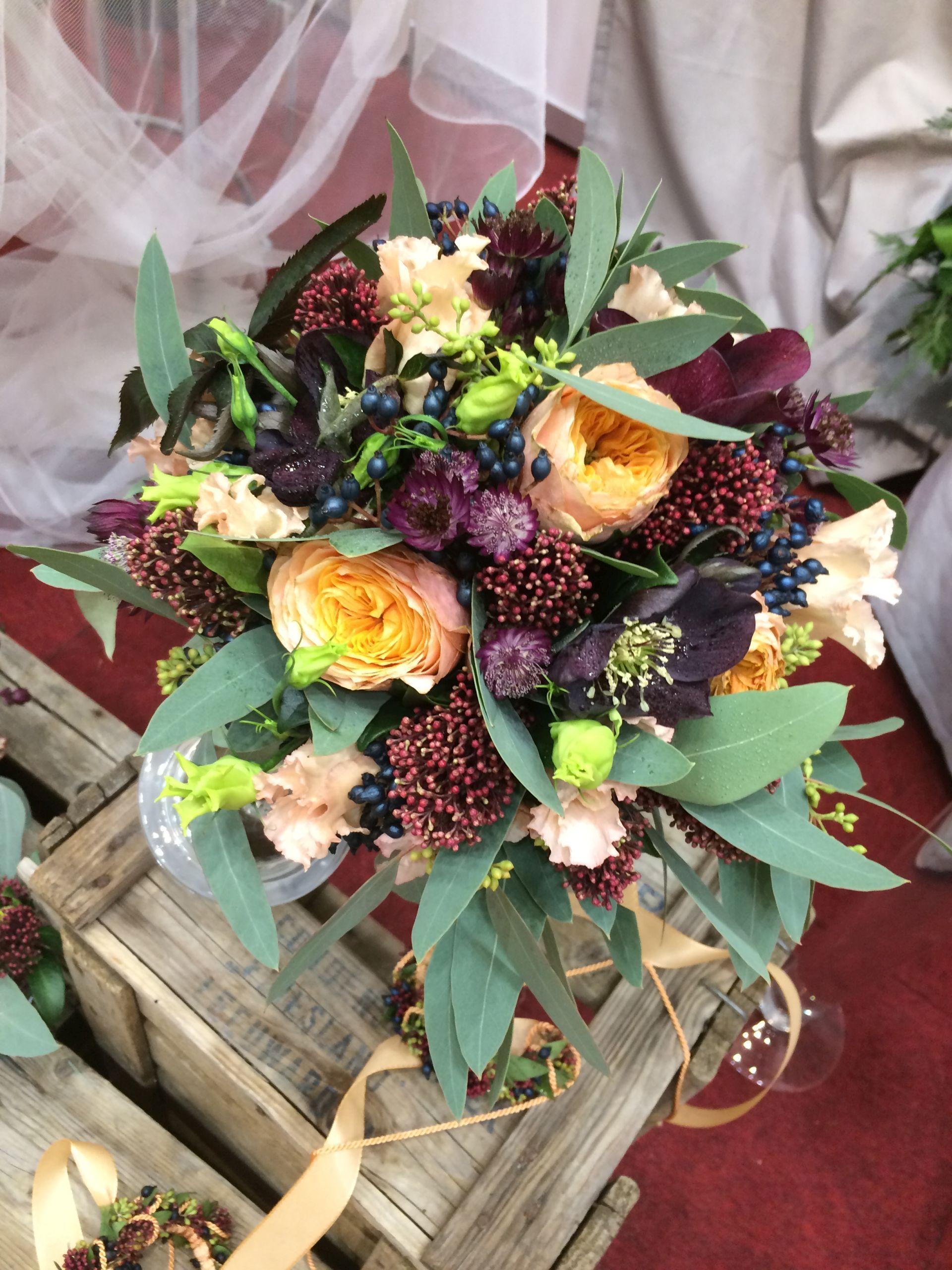 Hochzeitsblumen auf der TRAU DICH Wien  Hochzeitsblumen