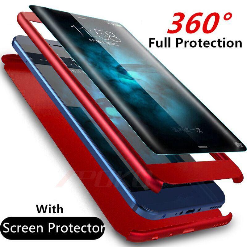 Luxus 360 Grad Full Cover Telefonkasten Fur Samsung Galaxy S9 S8 Plus Stossfest Abdeckung Fur Samsung Anmerkung 8 S7 Rand S7 Fall Capa Phone Cases Protective Full Cover Phone Case Phone Cases