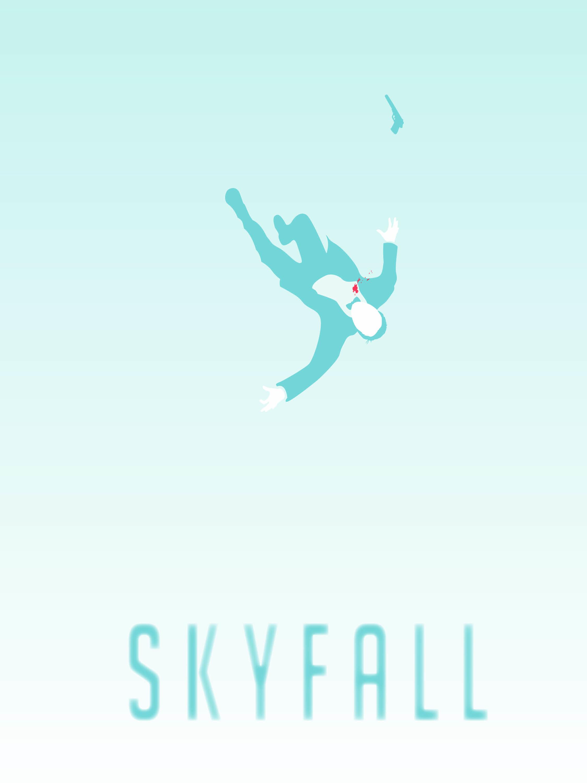 Work in progress. Movie poster for Skyfall.