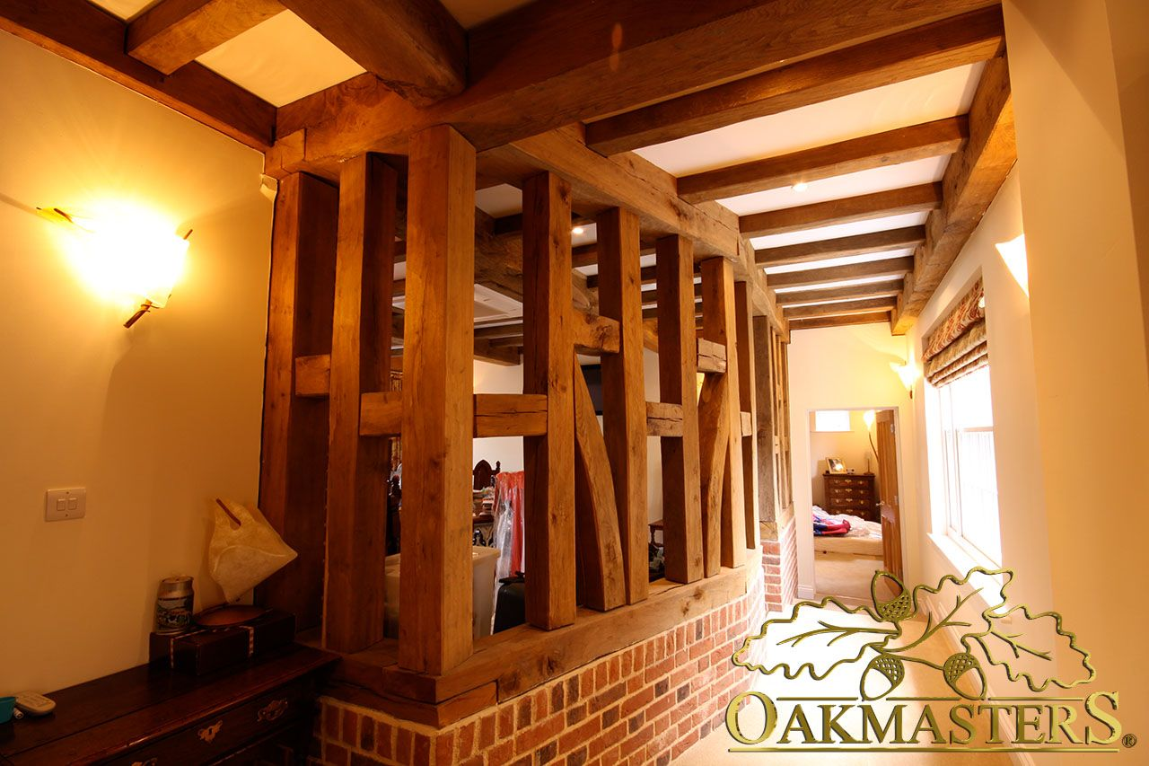 Choose your own styles so your oak beams suit your personal tastes